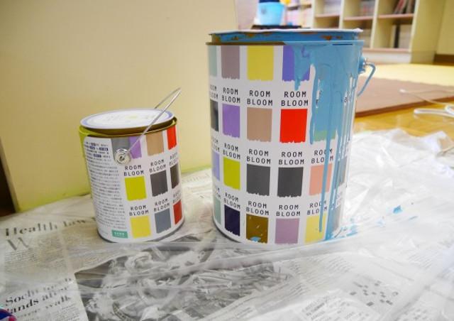 ペンキを通販で購入するなら安心・安全の水性塗料を!