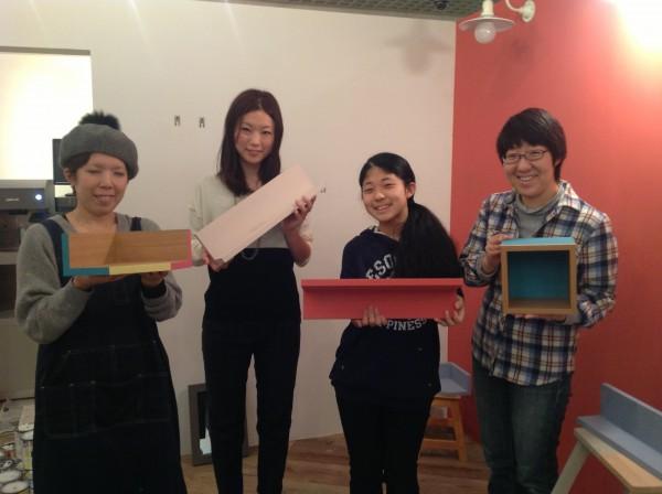 【年末模様替え企画1】MUJIの壁に取り付ける棚を塗ろう ワークショップ