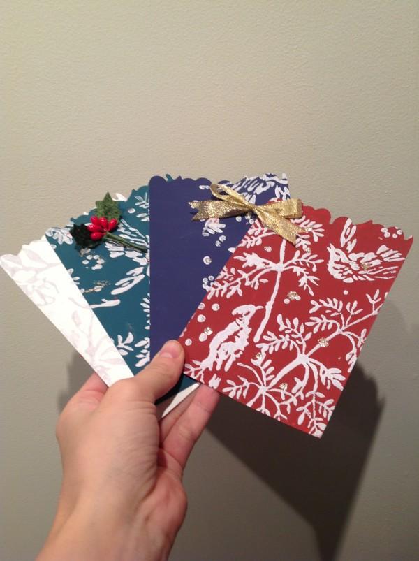 11月30日・12月1日『クリスマスカードを作ろう!』ワークショップ