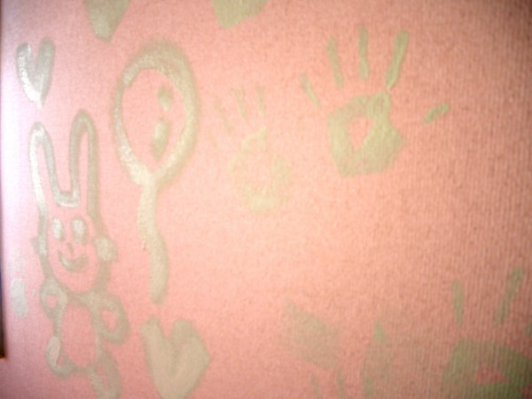 ファミリーホーム(児童養護施設)の壁
