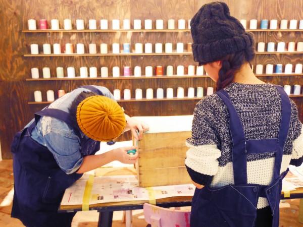 2014.12.13.18「りんご箱をペイントしよう!ワークショップ」