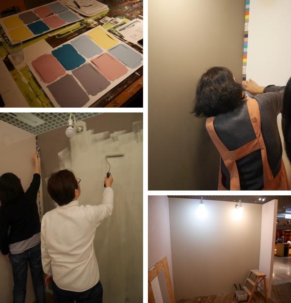 2014.12.14【東京開催】「小さなポストカードと大きな壁を塗ろう!」ワークショップ